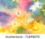 watercolor background 3   Shutterstock . vector #71898070