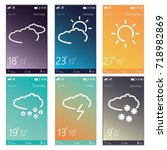weather app ui. mobile ui kit....