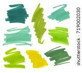 color highlight stripes ... | Shutterstock .eps vector #719002030