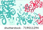 abstract background with... | Shutterstock .eps vector #719011294