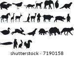 illustration of animal... | Shutterstock .eps vector #7190158