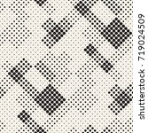 modern stylish halftone texture.... | Shutterstock .eps vector #719024509