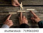 business teamwork and... | Shutterstock . vector #719061043