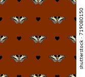 seamless geometrical pattern... | Shutterstock .eps vector #719080150