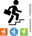 career advancement icon | Shutterstock .eps vector #719082106