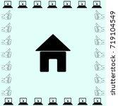 home icon  house vector...