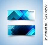 multipurpose layout design. ... | Shutterstock .eps vector #719140900