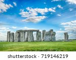 stonehenge  united kingdom | Shutterstock . vector #719146219