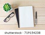 business  education  still life ... | Shutterstock . vector #719154238