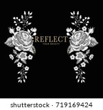 embroidery graphic with slogan   Shutterstock .eps vector #719169424