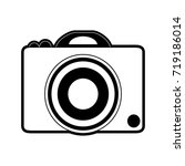 photographic camera icon image  | Shutterstock .eps vector #719186014