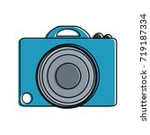 photographic camera icon image  | Shutterstock .eps vector #719187334