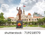 ho chi minh city  saigon  ... | Shutterstock . vector #719218570