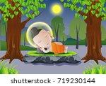 lord of buddha sleep under tree ...