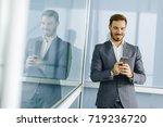portrait of happy smiling urban ...   Shutterstock . vector #719236720