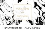 business card template set....   Shutterstock .eps vector #719242489