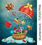 Fantasy Holiday Greeting Card...