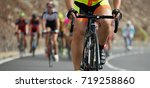 cycling competition cyclist...   Shutterstock . vector #719258860