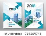 city background business book...   Shutterstock .eps vector #719264746