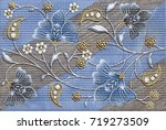 abstract home decorative art... | Shutterstock . vector #719273509