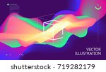 colorful color gradients ... | Shutterstock .eps vector #719282179