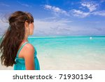 outdoor portrait of a little... | Shutterstock . vector #71930134