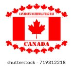 day of the national flag of... | Shutterstock .eps vector #719312218