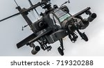 Military Attack Helicopter...