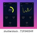 fitness app. ui ux design....
