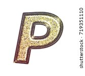 sparkling vintage printed... | Shutterstock . vector #719351110