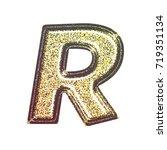 sparkling vintage printed... | Shutterstock . vector #719351134