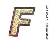 sparkling vintage printed... | Shutterstock . vector #719351194