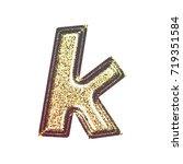 sparkling vintage printed... | Shutterstock . vector #719351584
