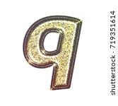 sparkling vintage printed... | Shutterstock . vector #719351614
