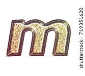 sparkling vintage printed... | Shutterstock . vector #719351620