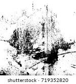 grunge background vector black... | Shutterstock .eps vector #719352820