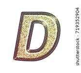 sparkling vintage printed... | Shutterstock . vector #719352904