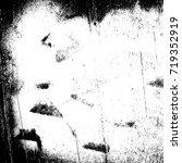 grunge background vector black... | Shutterstock .eps vector #719352919
