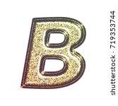 sparkling vintage printed... | Shutterstock . vector #719353744