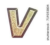 sparkling vintage printed... | Shutterstock . vector #719353804