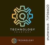 technology initial letter q...   Shutterstock .eps vector #719366620