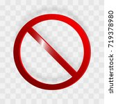 no sign. isolated on...   Shutterstock .eps vector #719378980