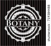 botany silvery badge | Shutterstock .eps vector #719384488