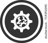 gear icon   settings  . dark...   Shutterstock .eps vector #719392090