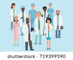 vector cartoon illustration of... | Shutterstock .eps vector #719399590