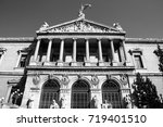 national library of spain.... | Shutterstock . vector #719401510