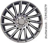 light aluminum sport car racing ...   Shutterstock . vector #719415079