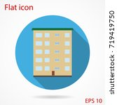 apartment house flat | Shutterstock .eps vector #719419750