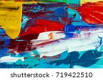 painted background | Shutterstock . vector #719422510