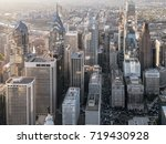 aerial view of downtown... | Shutterstock . vector #719430928